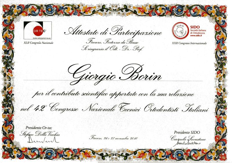 Congresso Nazionale Tecnici Ortodontisti Italiani