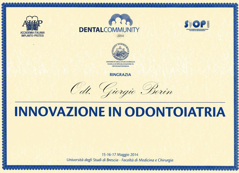 Innovazione in Odontoiatria