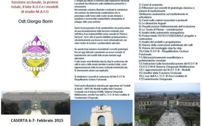 Corso a Caserta per medici dentisti e odontotecnici